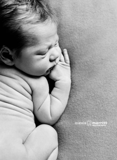 Baby Rolls | Seattle Newborn Photographer