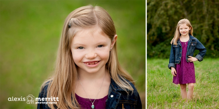 Mill Creek Child Portraits. Alexis Merritt Photography