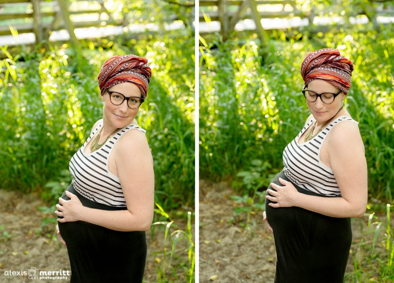 Beautiful Mama-to-be | Mill Creek Maternity photographer