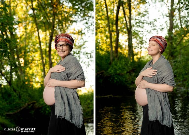 Beautiful Mama-to-be | Mill Creek Maternity photographer