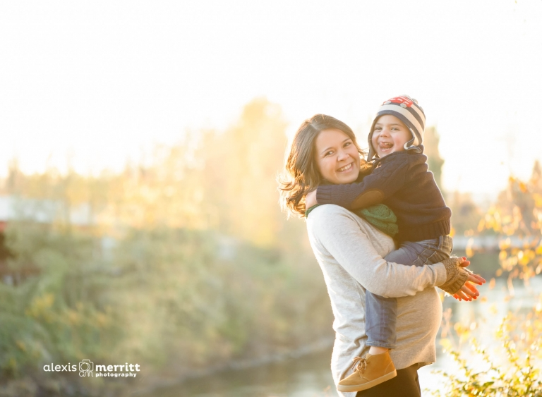 maternity portraits with gorgeous mama and big brother-to-be | Alexis Merritt Photography