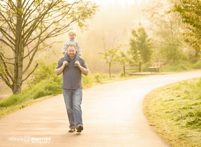 Dad and son | Seattle Photographer