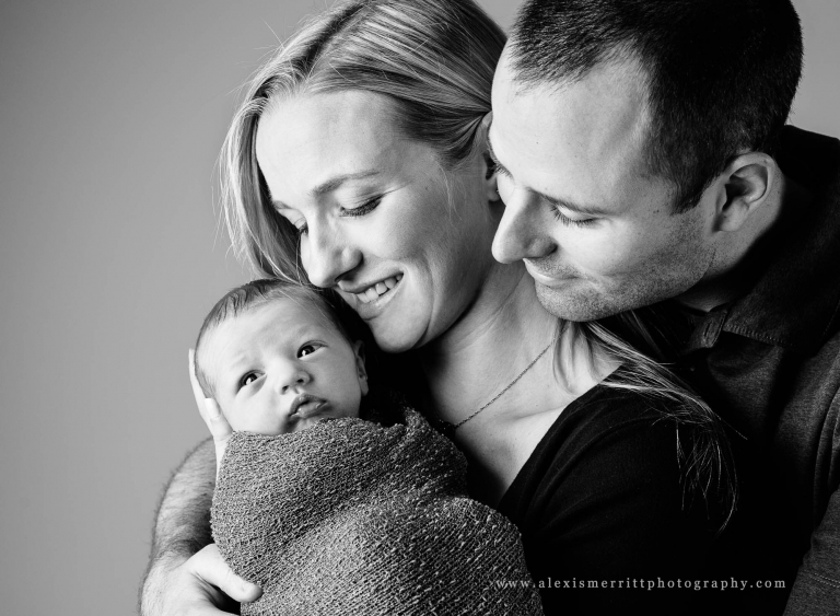 Mom, Dad, baby | Seattle Family Photographer