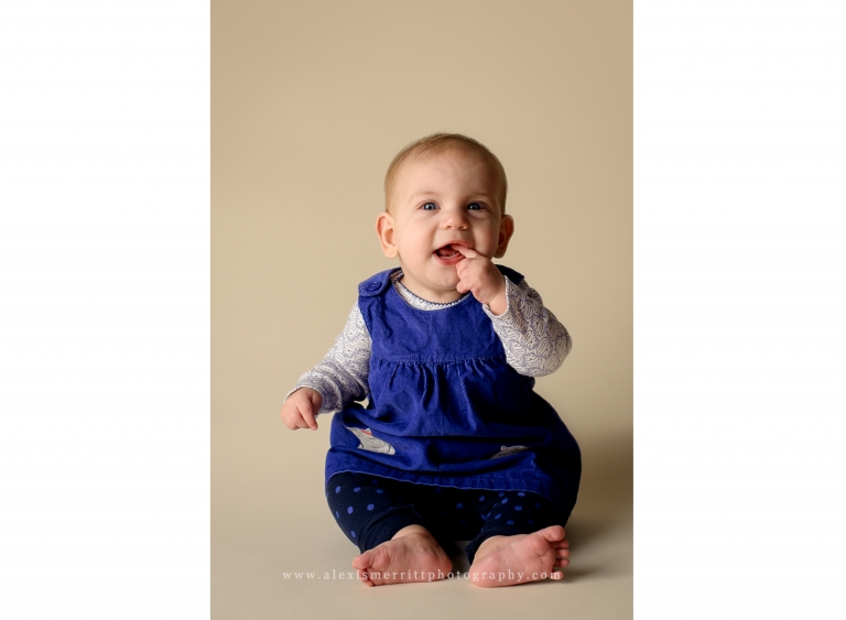 Bothell Baby Milestone Photographer
