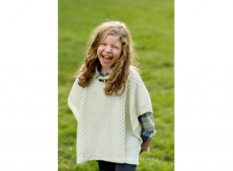 Laughing girl | Seattle Child Photographer