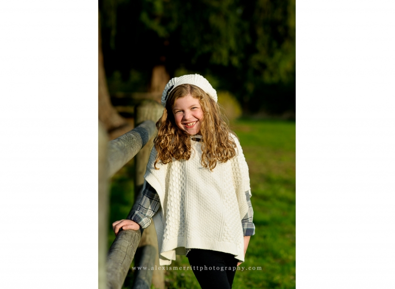 Girl at Mary Cash Farm | Bothell Child and Family Photographer