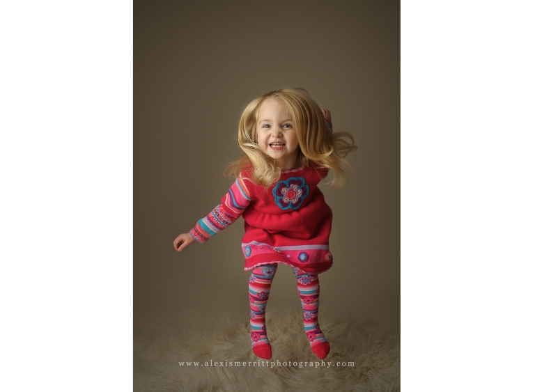 Girl jumping | Bothell child photographer