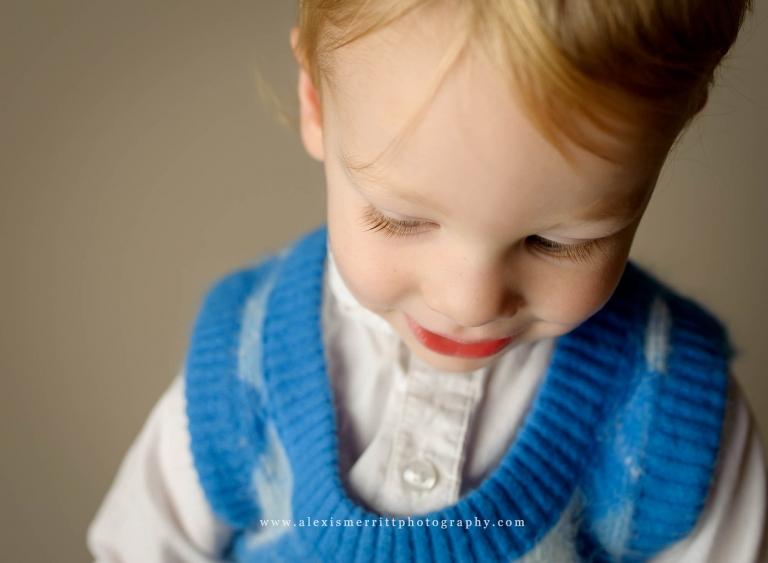 Little boy in studio | Bothell Child portraits